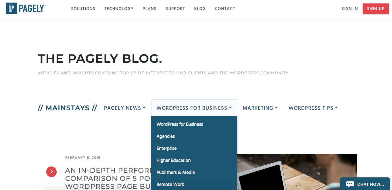 Pagely blog